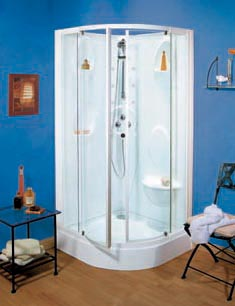 hammam allibert ocean. Black Bedroom Furniture Sets. Home Design Ideas